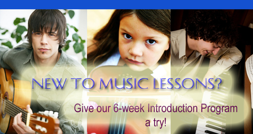 New to Music Lessons